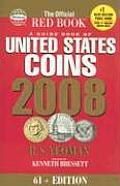 2008 Guide Book Of Us Coins Redbook