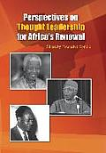 Perspectives on Thought Leadership for Africa's Renewal