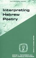 Interpreting Hebrew Poetry (92 Edition)