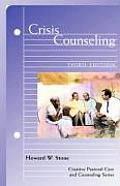 Crisis Counseling (Creative Pastoral Care and Counseling) Cover