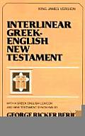 Interlinear New Testament Cover