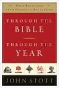 Through the Bible Through the Year Daily Reflections from Genesis to Revelation