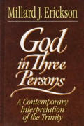 God In Three Persons A Contemporary Inte