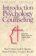 Introduction to Psychology & Counseling Christian Perspectives & Applications