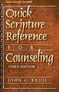 Quick Scripture Reference for Counseling Cover