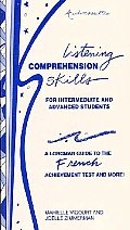 Listening Comprehension Skills for Intermediate and Advanced Students Cassettes (3)