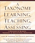 A Taxonomy for Learning, Teaching, and Assessing: A Revision of Bloom's Taxonomy of Educational Objectives, Abridged Edition Cover