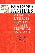 Reading Families Womens Literate Practice in Late Medieval England