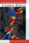 A Bird-Finding Guide to Costa Rica Cover