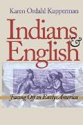 Indians & English Facing Off in Early America