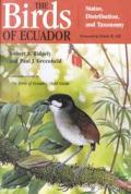 Birds of Ecuador Status Distribution & Taxonomy