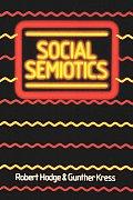 Social Semiotics (88 Edition)