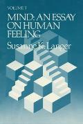 Mind an Essay on Human Feeling Volume 2 Cover