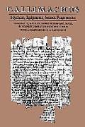 Callimachus Hymns Epigrams Select Fragments