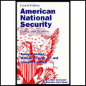 American National Security Policy &