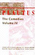 Plautus the Comedies Vol Cover