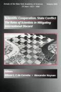 Scientific Cooperation State Conflict