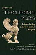 The Theban Plays: Oedipus the King, Oedipus at Colonus, Antigone (Johns Hopkins New Translations from Antiquity) Cover