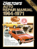 Chilton's Auto Repair Manual, 1964-1971 - Collector's Edition