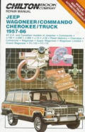 Chilton Book Company repair & tune-up guide.all U.S. and Canadian models of Jeepster, Commando, J-100, J-200, J-300, J-10, J-20, panel delivery, Cherokee, Comanche, Wagoneer, Super Wagoneer, Wagoneer