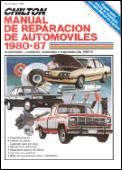 Chilton's Spanish-Language Auto Repair Manual 1980-87 (Chilton's Spanish-Language Manuals)