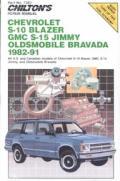 Chevrolet S10 Blazer Gmc S15 Jimmy Oldsmobile Bravada 1982 1991 Repair Manual
