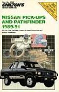 Nissan P/U/Pathfinder 1989-91