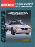 General Motors Calais Grand Am Skylark Somerset 1985 92