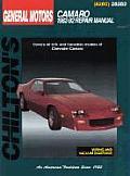 GM Camaro 1982-92 (Chilton's Total Car Care Repair Manuals)