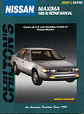 Nissan Maxima 1985-92 (Chilton's Total Car Care Repair Manuals) Cover