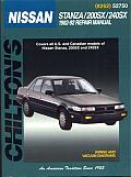 Nissan Stanza 200SX 240SX Repair Manual 1982 1992