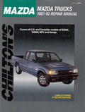 Mazda Trucks Repair Manual 1987 1992