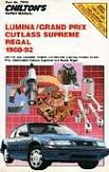 Chiltons Repair Manual Lumina Grand Prix Cutlass Supreme Regal 1988 92