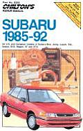 Subaru 1985 92 All Models Repair Manual