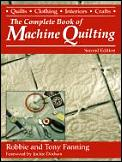 Complete Book of Machine Quilting Cover