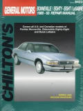 Chilton's General Motors Bonneville/LeSabre/Eighty-eight 1988-93 repair manual