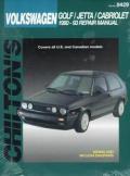 Volkswagen 1990 93 Golf Jetta Cabriolet