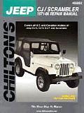 Jeep Cj/Scrambler 1971-86 (Chilton's Total Car Care Repair Manuals)