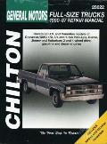 GM Full-Size Trucks 1980-87 (Chilton's Total Car Care Repair Manuals)
