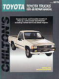 Toyota Pick-Ups/Land Cruiser/4Runner 1970-88 (Chilton's Total Car Care Repair Manuals)