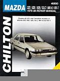 Mazda 323/626/929/GLC/MX-6/RX-7 1978-89 (Chilton's Total Car Care Repair Manuals)