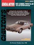 GM Buick/Oldsmobile/Pontiac Full-Size 1975-90 (Chilton's Total Car Care Repair Manuals)