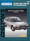 Honda Accord Civic Prelude 73 83