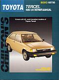 Toyota Tercel Repair Manual 1984 1994