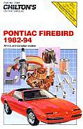 Pontiac Firebird 1982 94 All U S & Canadian Models