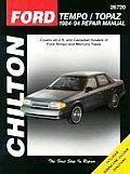 Ford Tempo Topaz Repair Manual 1984 1994