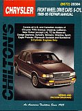 Chrysler Front Wheel Drive Cars 6 Cyl 1988-95 (Chilton's Total Car Care Repair Manuals)