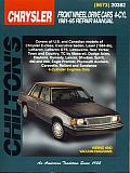 Chrysler Front-Wheel Drive Cars, 4 Cylinder, 1981-95