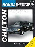 Honda Civic, Crx and del Sol 1984-95 (Chilton's Total Car Care Repair Manuals)