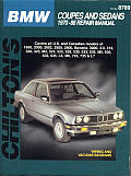 BMW Coupes and Sedans 1970-88 (Chilton's Total Car Care Repair Manuals)